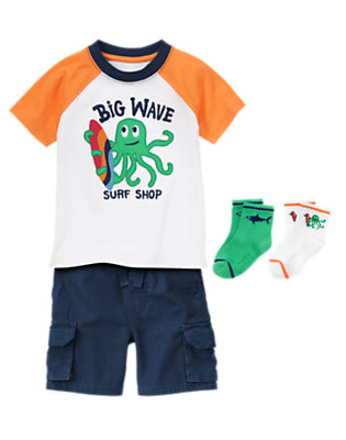 Toddler Boy's Ocean Adventure Outfit by Gymboree