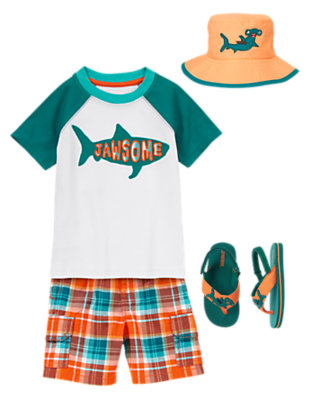 Toddler Boy's Shark Patrol Outfit by Gymboree
