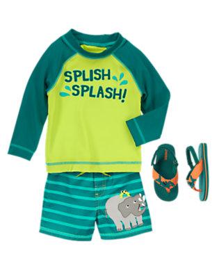Toddler Boy's Splish Splash Outfit by Gymboree