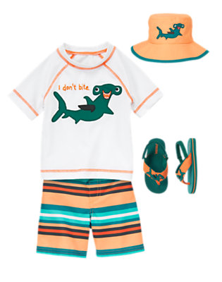 Toddler Boy's Deep Sea Pals Outfit by Gymboree