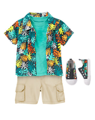 Toddler Boy's Little Island Dude Outfit by Gymboree