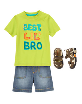 Toddler Boy's Color Field Study Outfit by Gymboree