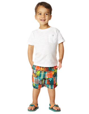Toddler Boy's Patchy Sun Outfit by Gymboree