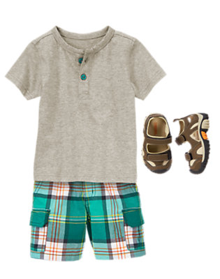 Toddler Boy's Jungle Cool Outfit by Gymboree