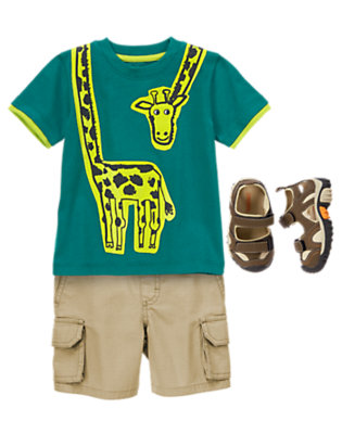 Toddler Boy's Little Trail Guide Outfit by Gymboree