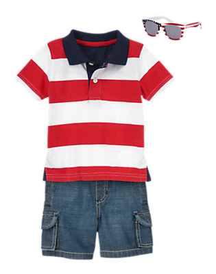 Toddler Boy's United States of Awesome Outfit by Gymboree