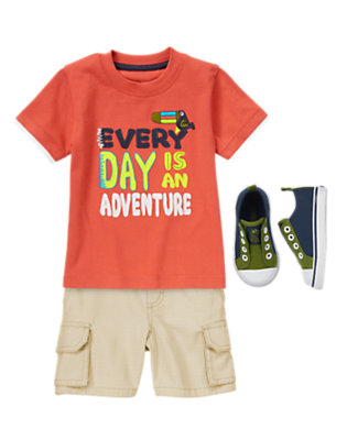Toddler Boy's Bright Adventure Outfit by Gymboree