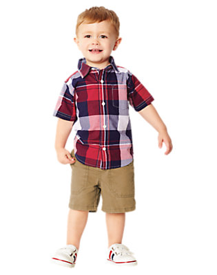 Toddler Boy's Home Run Hero Outfit by Gymboree