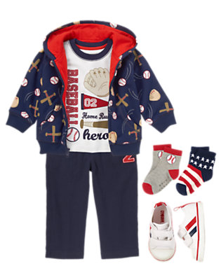 Toddler Boy's #1 Fan Outfit by Gymboree