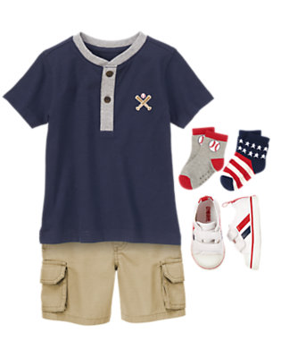 Toddler Boy's Play Ball! Outfit by Gymboree