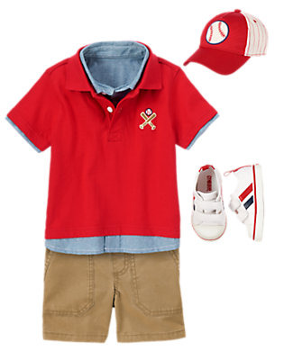 Toddler Boy's Team Captain Outfit by Gymboree
