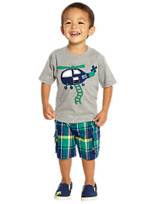 Toddler Boy's Helicopter Pilot Outfit by Gymboree