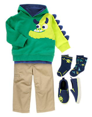 Toddler Boy's Cutie Monster Outfit by Gymboree