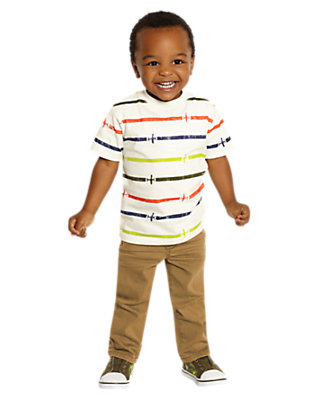 Toddler Boy's Flying Colors Outfit by Gymboree