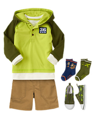 Toddler Boy's Brighter Jet Outfit by Gymboree