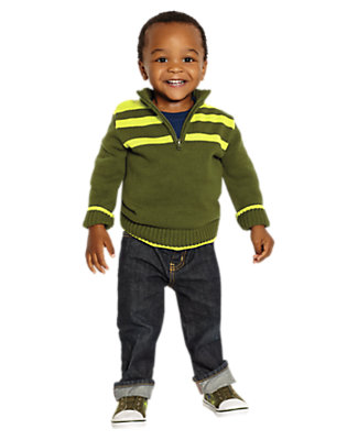 Toddler Boy's Soft Landing Outfit by Gymboree