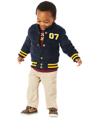 Toddler Boy's Top Draft Pick Outfit by Gymboree