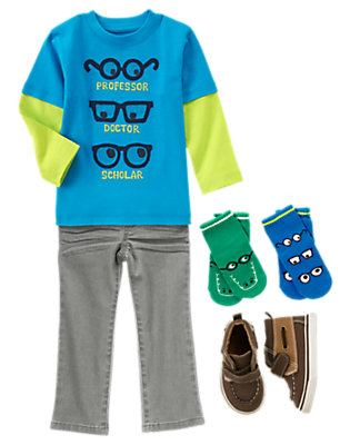 Toddler Boy's Little Lab Assistant Outfit by Gymboree
