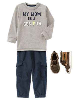 Toddler Boy's Style Genius Outfit by Gymboree