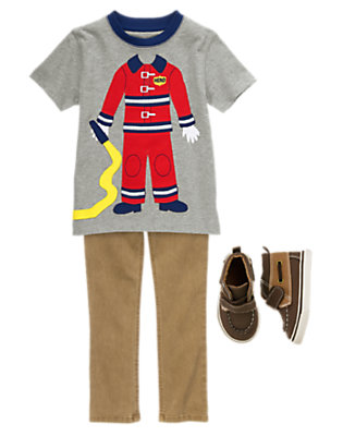 Toddler Boy's To The Rescue Outfit by Gymboree