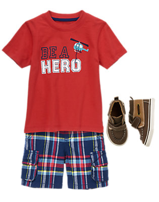 Toddler Boy's Local Hero Outfit by Gymboree