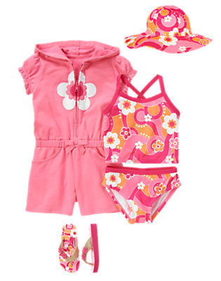 Poolside Blossom Outfit by Gymboree