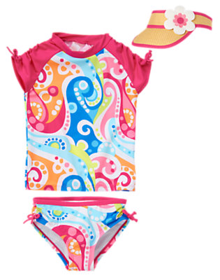 Girl's Just Beachy Outfit by Gymboree