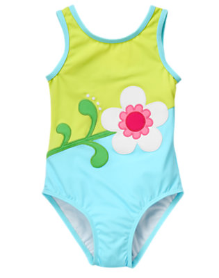 Girl's Stylish Diver Outfit by Gymboree