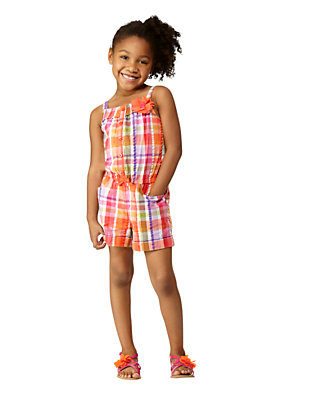 Sunshine Plaid Outfit by Gymboree