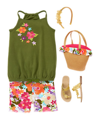 Tropical Garden Outfit by Gymboree