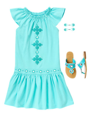 Girl's Sweet Summer Outfit by Gymboree