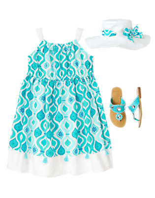 Sea Breeze Chic Outfit by Gymboree