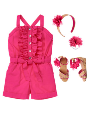 Summer Ruffles Outfit by Gymboree