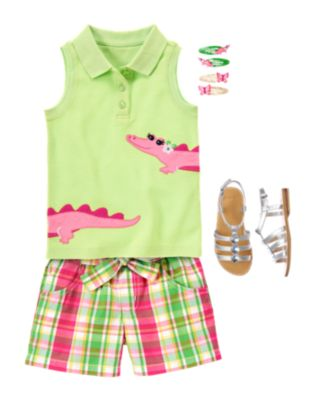 Kid Girl   Alligator Line   Summer 2013