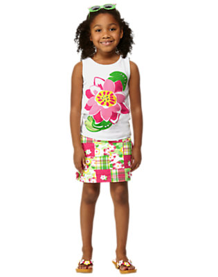 Girl's Tropical Patchwork Outfit by Gymboree