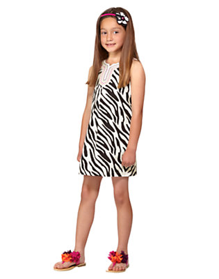 Girl's Zebra Glam Outfit by Gymboree