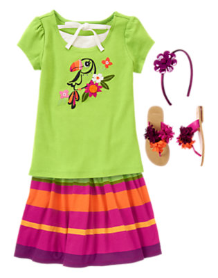 Toucan Twirl Outfit by Gymboree