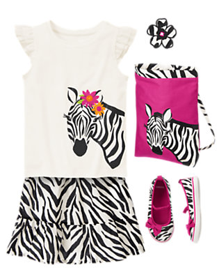 Wild For Zebra Outfit by Gymboree