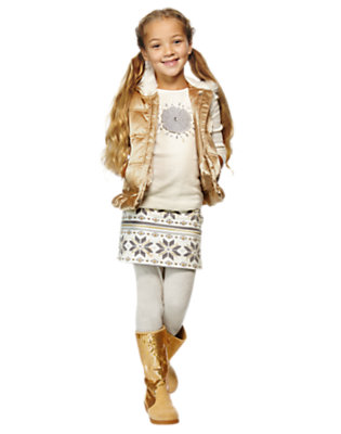 Girl's Sparkly & Cozy Outfit by Gymboree