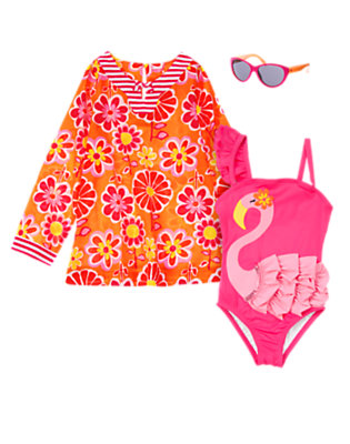 Girl's Poolside Chic Outfit by Gymboree