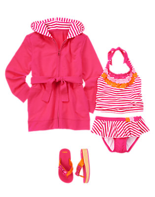 Girl's Sunny Stripes Outfit by Gymboree