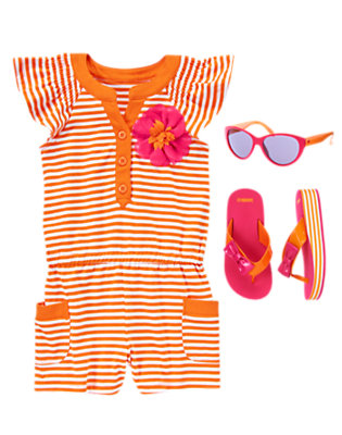 Girl's Romp Around Outfit by Gymboree