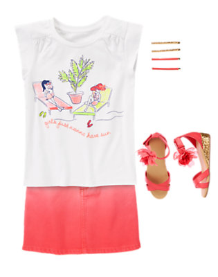 Pink Glow Outfit by Gymboree