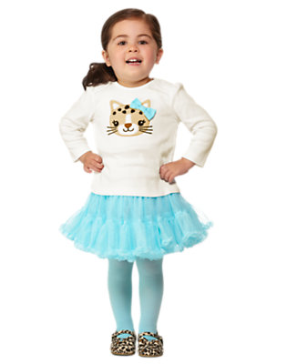Toddler Girl's Flouncy Feline Outfit by Gymboree