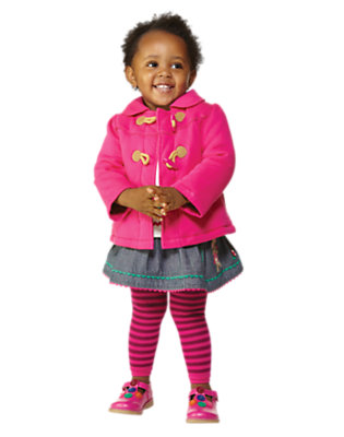 Toddler Girl's Animal Parade Outfit by Gymboree