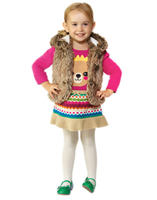 Toddler Girl's Cozy Little Bear Outfit by Gymboree