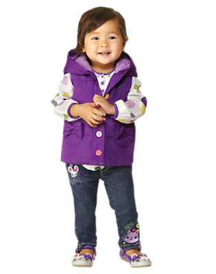 Toddler Girl's Stylish & Snug Outfit by Gymboree