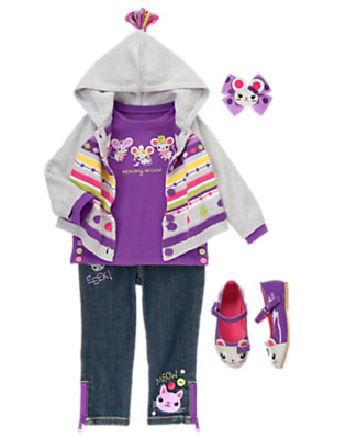 Toddler Girl's Layer On The Cute Outfit by Gymboree