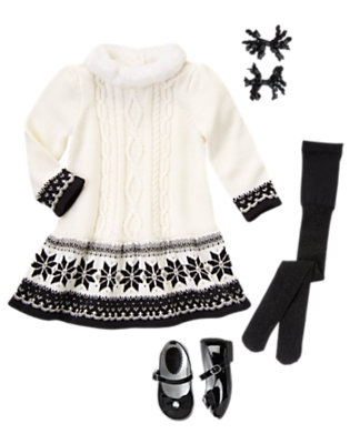 Toddler Girl's Fair Isle Flair Outfit by Gymboree