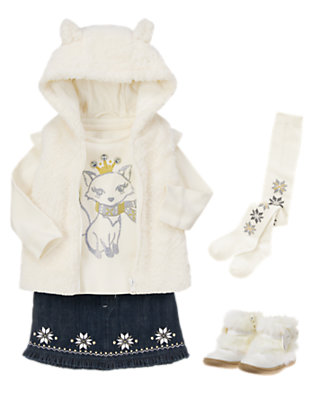 Snow Fox Outfit by Gymboree